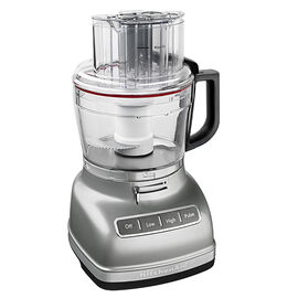 KitchenAid 11-Cup Food Processor with ExactSlice System - Silver - KFP1133CU