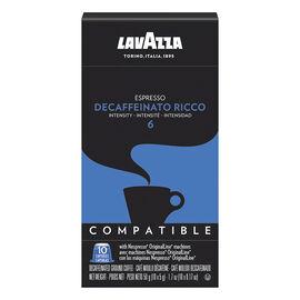 Lavazza Nespresso© Pods - Decaffeinato Ricco 6 - 10 Pack