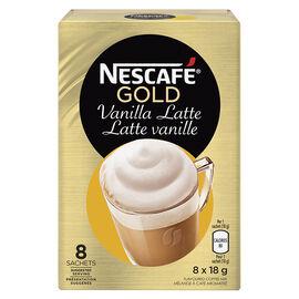 Nescafe Gold - Vanilla Latte - 8x18.5g