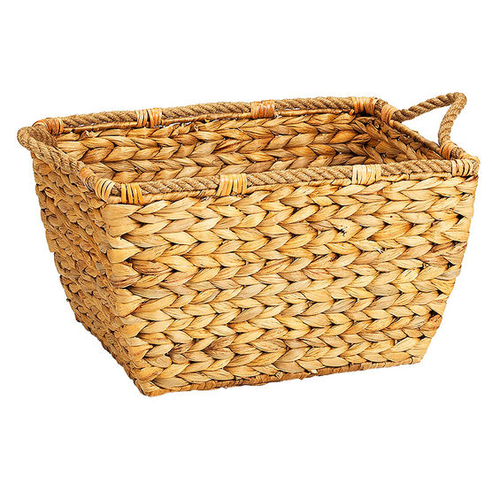 London Drugs Water Hyacinth Curved Basket