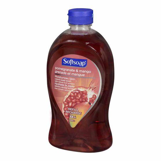 Softsoap Liquid Hand Soap Refill - Pomegranate/Mango - 828ml