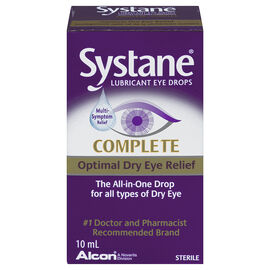 Systane Complete Lubricant Eye Drops - 10ml