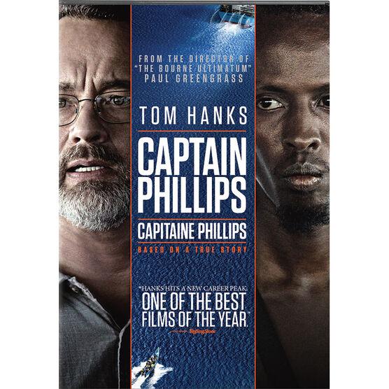 Captain Phillips - DVD + Ultraviolet/Digital Copy