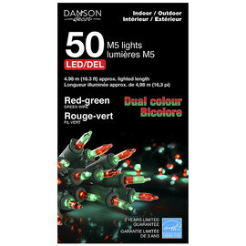 Danson Outdoor Dual Lens Lights - Red/Green - 50's