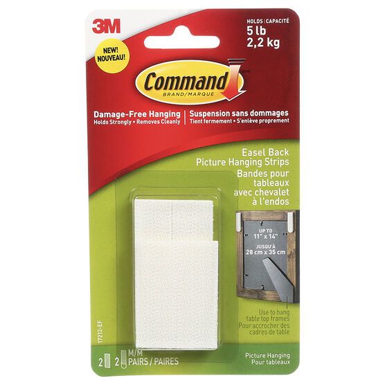 Command™ Easel Back Picture Hanging Strips - 1 set