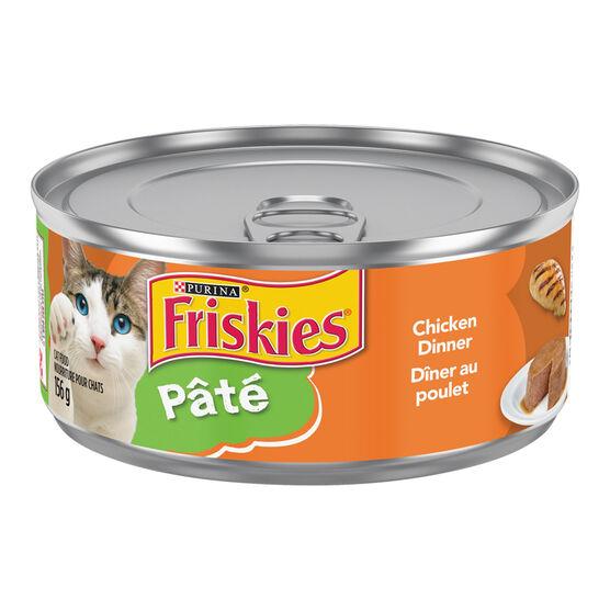 Friskies Wet Cat Food - Pate Chicken Dinner - 156g
