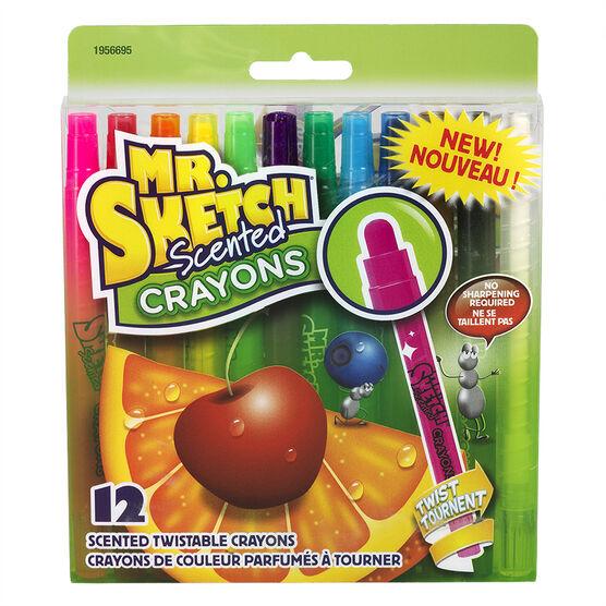 Mr. Sketch Scented Twistable Crayons - 12pk