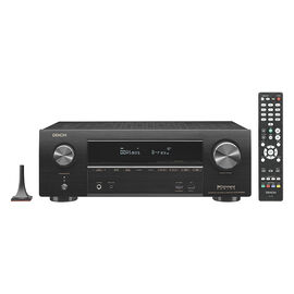 Denon 7.2 Channel Receiver with HEOS - Black - AVR-X1500H
