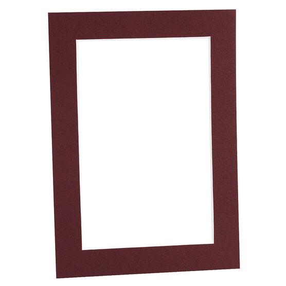 Tempo 5x7 Mat Frame - Maroon