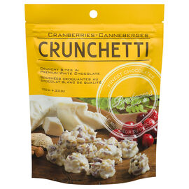 Crunchetti White Chocolate Almond Clusters - 120g