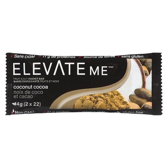 Elevate Me Bar Fruit & Nut Energy Bar - Coconut Cocoa - 44g