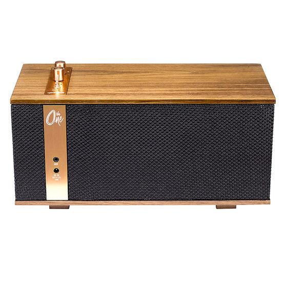 Klipsch The One Bluetooth Speaker - Walnut - THEONEW