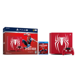 Sony PlayStation Limited Edition Marvel's Spider-Man PS4 Pro Hardware Bundle - CUH-7115B