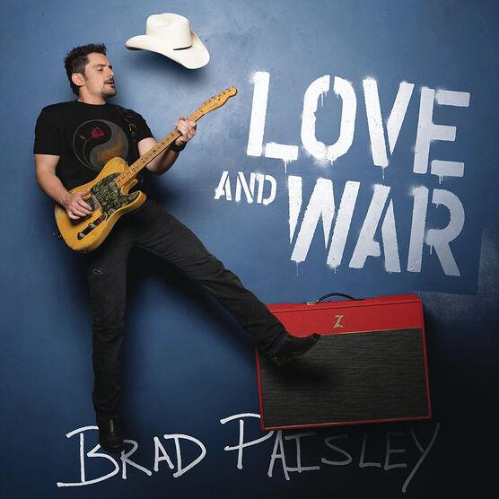 Brad Paisley - Love and War - CD