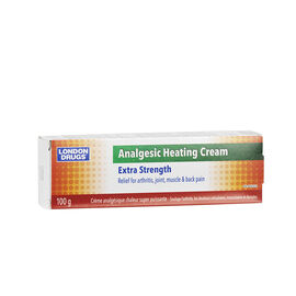 London Drugs Analgesic Heating cream - Extra Strength - 100g