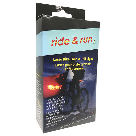 Smart Accessories Ride Run Bike Tail Light - Laser - 1402650