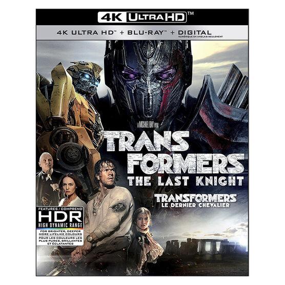 Transformers: The Last Knight - 3D Blu-ray