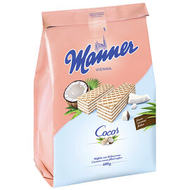 Manner Coconut Cream Wafers - 400g