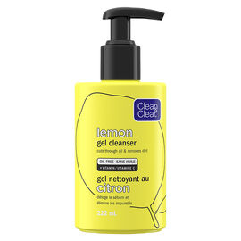 Clean & Clear Lemon Gel Cleanser - 222ml
