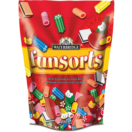 Waterbridge Red Funsorts - Fruit - 400g