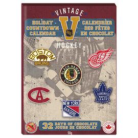 NHL® Vintage Hockey Holiday Countdown Advent Calendar - 50G