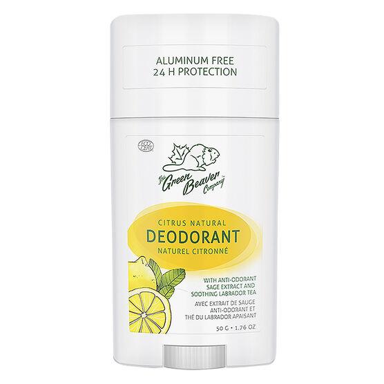 Green Beaver Natural Deodorant - Citrus - 50g