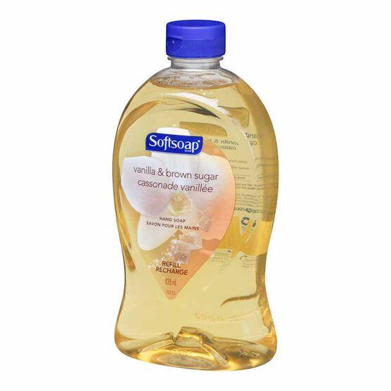 Softsoap Refill - Vanilla and Brown Sugar - 828ml