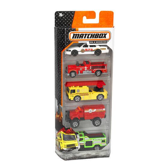 Matchbox Car Gift Set - 5 piece - Assorted