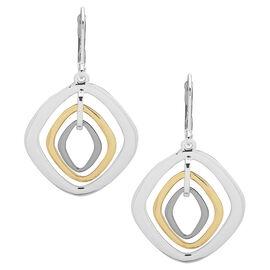 Nine West Orbital Earrings - Gold/Silver Tone