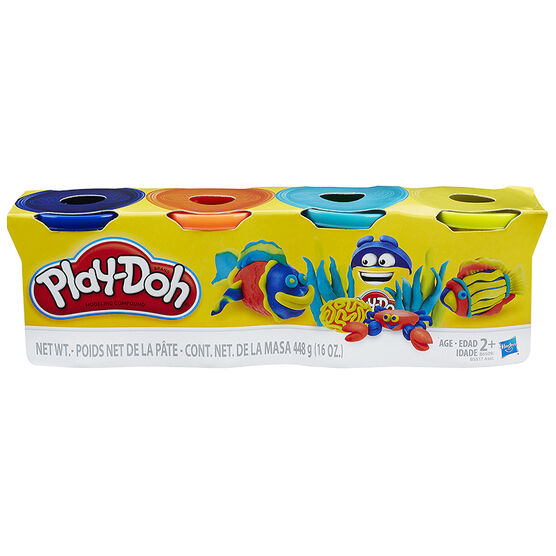 Play-doh Bold Colours Set - 4 Pack