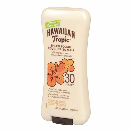 Hawaiian Tropic Sheer Touch Sunscreen Lotion - SPF 30 - 240ml