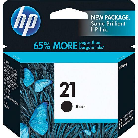HP 21 Original Ink Cartridge - Black - C9351AN#140