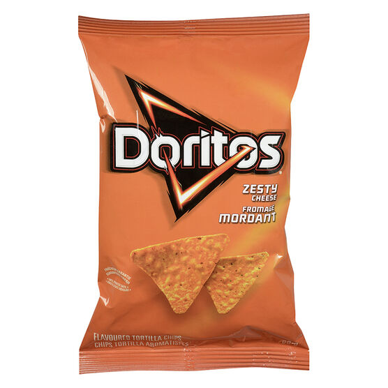 Doritos Tortilla Chips - Zesty Cheese - 80g