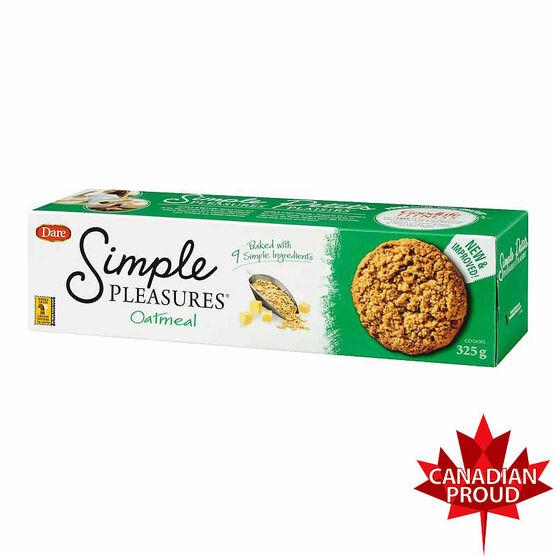 Dare Simple Pleasures Cookies - Oatmeal - 325g
