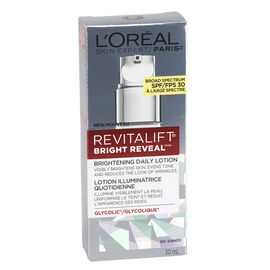 L'Oreal Revitalift Bright Reveal Brightening Daily Lotion SPF 30 - 30ml