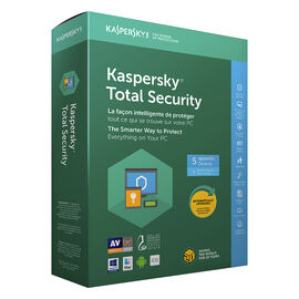 Kaspersky Total Security 2019 - 5 Devices/1 Year