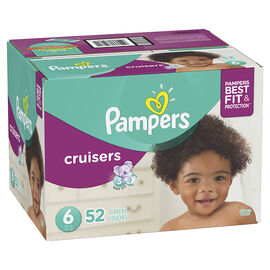 Pampers Cruisers Diapers - Size 6 - 52's