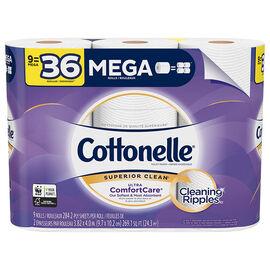 Cottonelle Ultra ComfortCare Mega Rolls - 9's