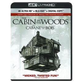 The Cabin In The Woods - 4K UHD Blu-ray