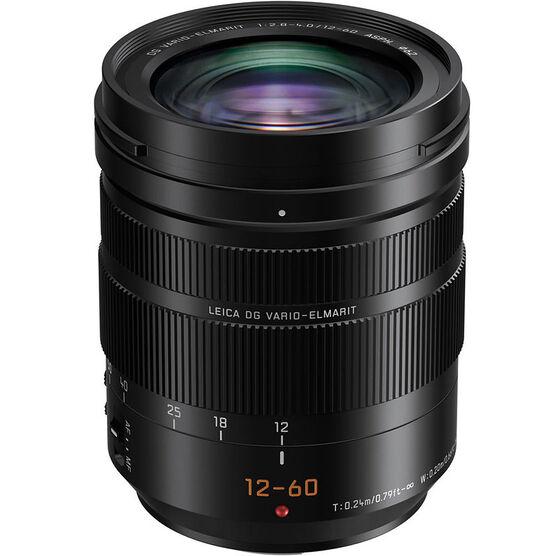 Panasonic LUMIX G LEICA DG VARIO-ELMARIT 12-60mm F2.8-4.0 Lens - Black - HES12060
