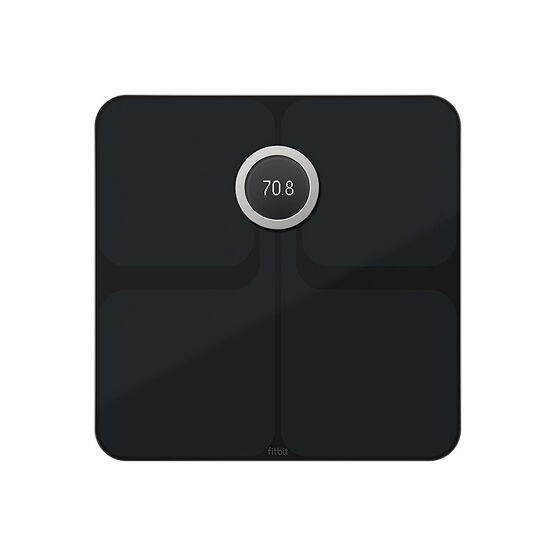 Fitbit Aria 2 Digital Wireless Bathroom Scale - Black