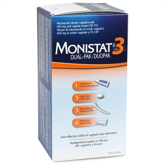 Monistat 3 Combo Pack