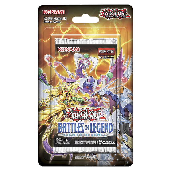 YuGiOh Battles of Legend Blister Pack