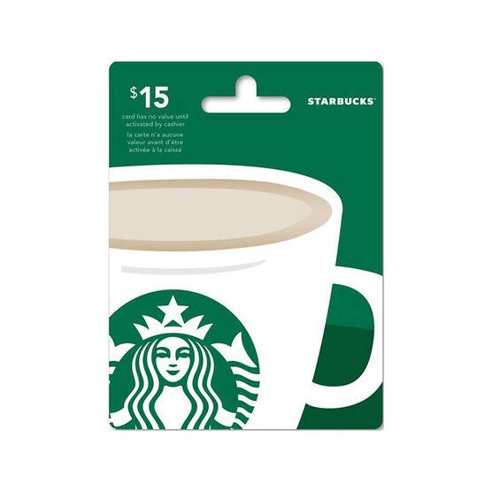 Starbucks gift card 15 london drugs starbucks gift card 15 negle Images