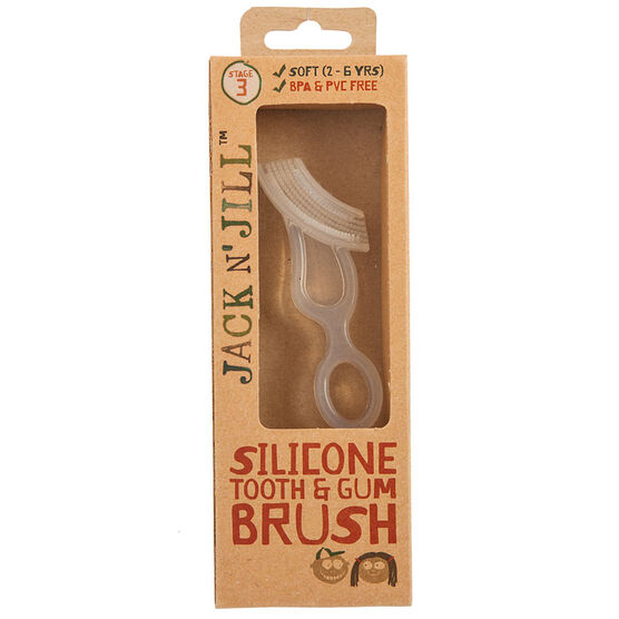 Jack N' Jill Silicone Tooth and Gum Brush