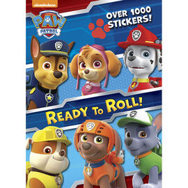 Paw Patrol: Ready To Roll! Colouring & Activity Book