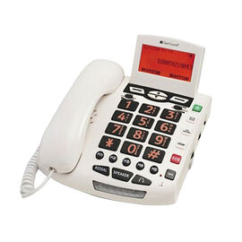ClearSounds Big Button Speakerphone - White - WCSC600