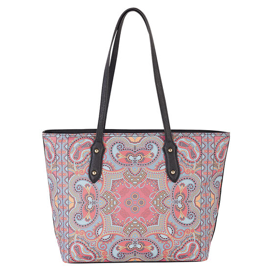 David Jones Carpet Pattern Handbags - Assorted