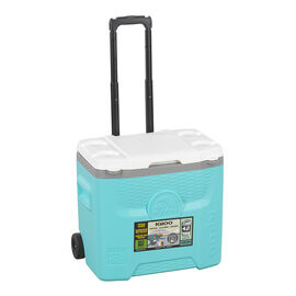 Igloo Quantum Roller Cooler - Aqua - 28qt.