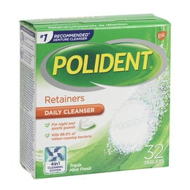 Polident Retainer Cleanser - 32's